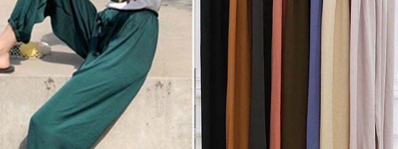 2019新款凉凉裤防晒裤休闲裤女九分裤灯笼裤女防蚊防嗮裤女夏薄款