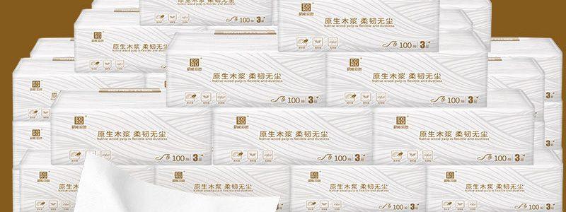 32包原木抽纸300张/包整箱批发餐巾卫生纸家庭装纸巾厕纸韶能本色