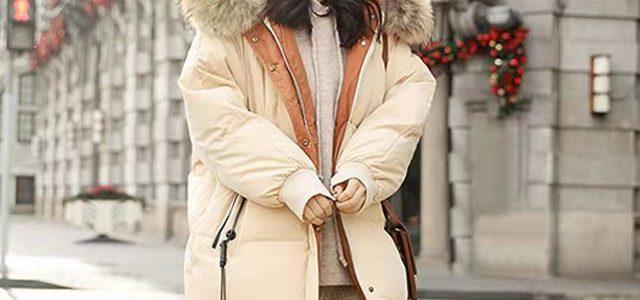 金果莉羽绒服女中长款学生2019新款冬季韩版收腰显瘦面包服外套潮